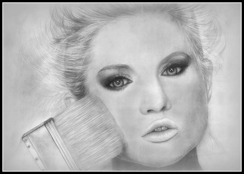 Femme maquillage Girl-b10