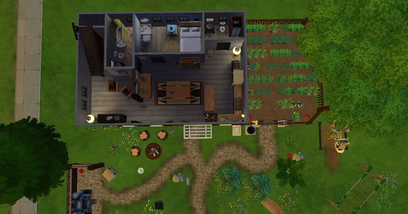[Challenge Jardin-Ecolo-Sims] Les Laterre ! 30-12-10