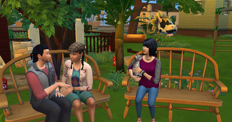[Challenge Jardin-Ecolo-Sims] Les Laterre ! 30-12-11