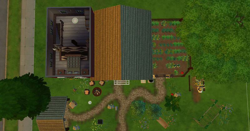 [Challenge Jardin-Ecolo-Sims] Les Laterre ! 30-12-12