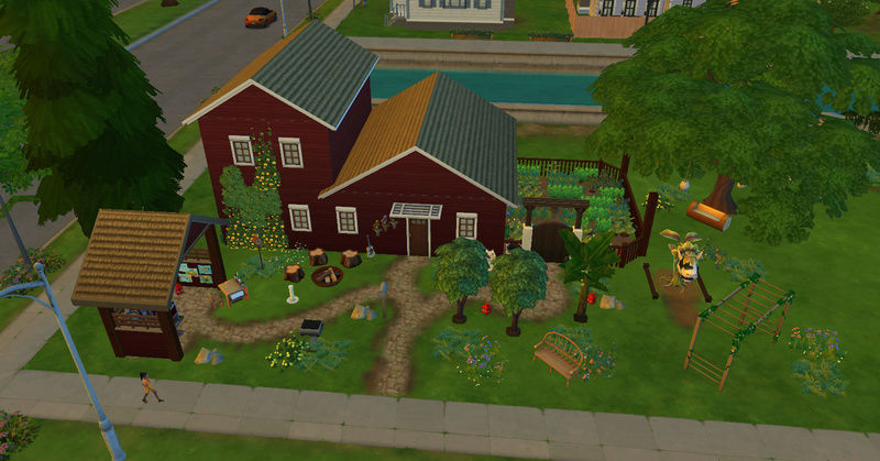 [Challenge Jardin-Ecolo-Sims] Les Laterre ! 30-12-14