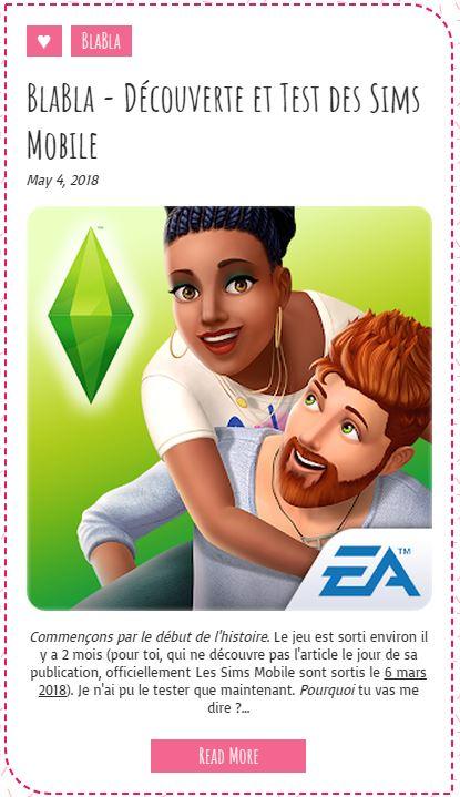 Le Monde de FannyChou'- Blog de Sims - Page 2 Blabla11