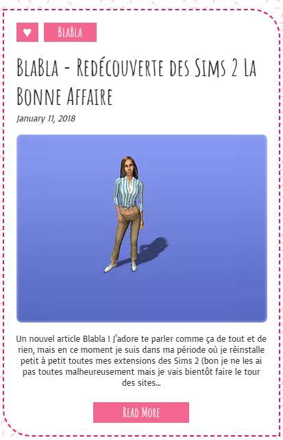 Le Monde de FannyChou'- Blog de Sims Decouv10