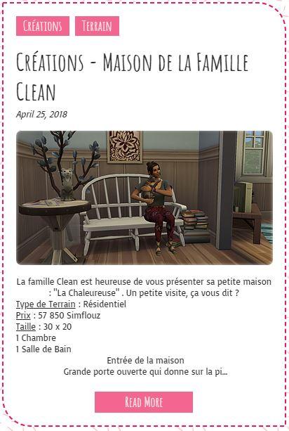Le Monde de FannyChou'- Blog de Sims - Page 2 Maison10