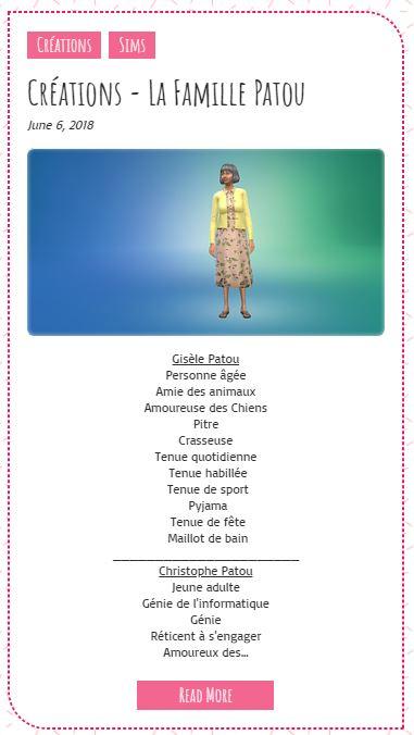 Le Monde de FannyChou'- Blog de Sims - Page 2 Patouf10