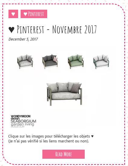 Le Monde de FannyChou'- Blog de Sims Pintes10