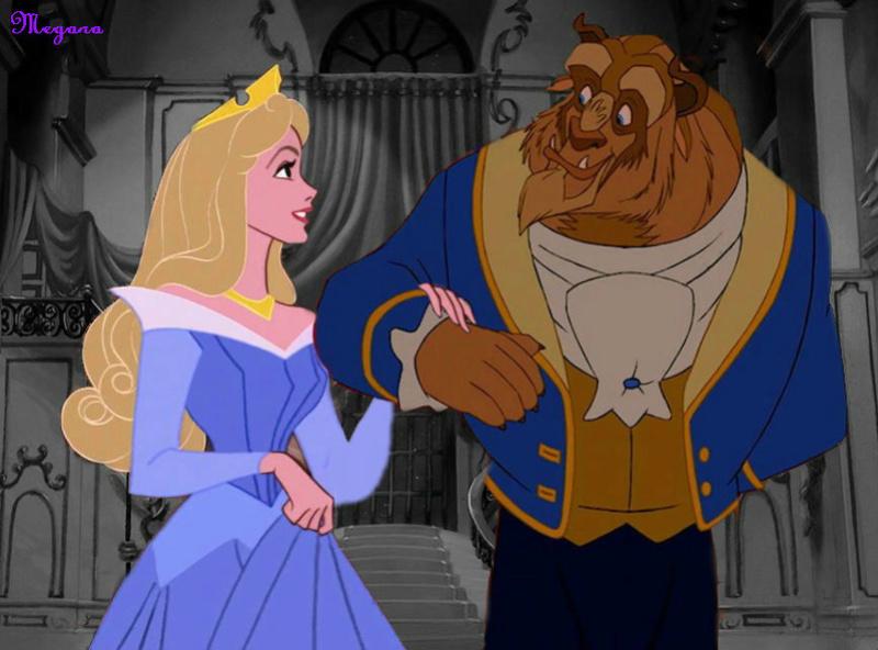 Crossovers de personnages Disney en image Beauty10