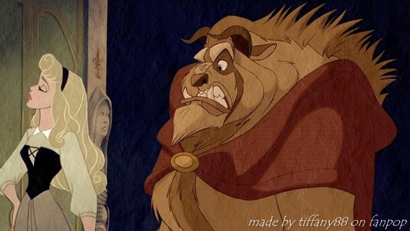 Crossovers de personnages Disney en image Beauty11