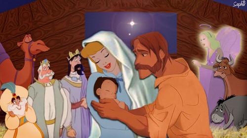 Crossovers de personnages Disney en image Christ10