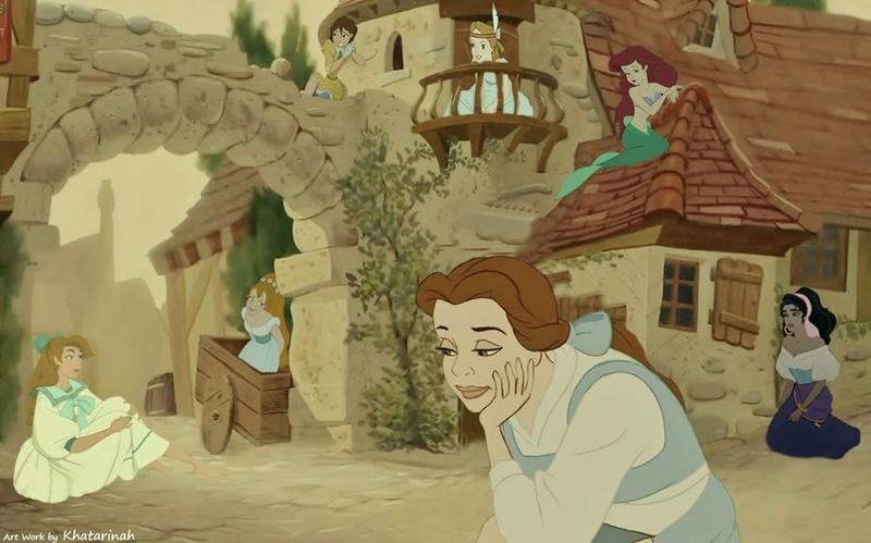Crossovers de personnages Disney en image Crosso10