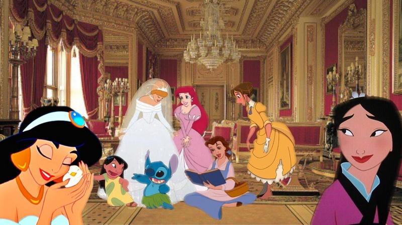 Crossovers de personnages Disney en image Disney12