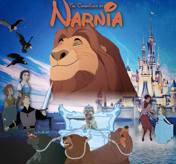 Crossovers de personnages Disney en image Disney13