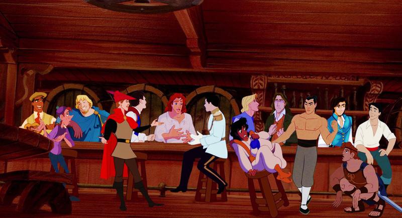 Crossovers de personnages Disney en image The-ni10