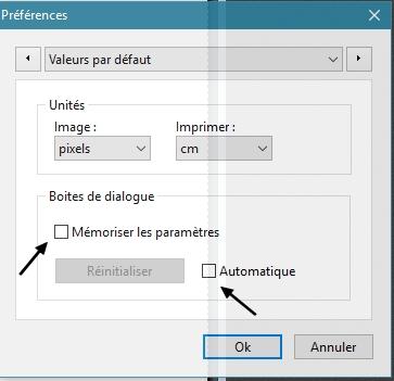 Les outils qui ne reviennent pas par défaut dans votre PFS Pryfyr10