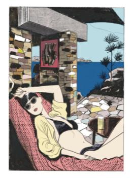 Bonjour Tristesse, l'adaptation BD du roman de Françoise Sagan Bonjtr10