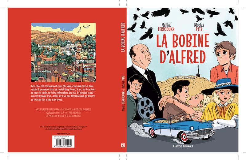 La Bobine d'Alfred, la BD adaptée du roman de Malika Ferdjoukh Couve_10