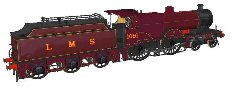 Locomotives in the Works 109110