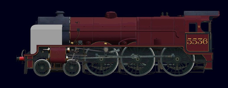 Locomotives in the Works 553611