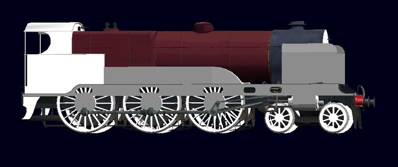 Locomotives in the Works 600411