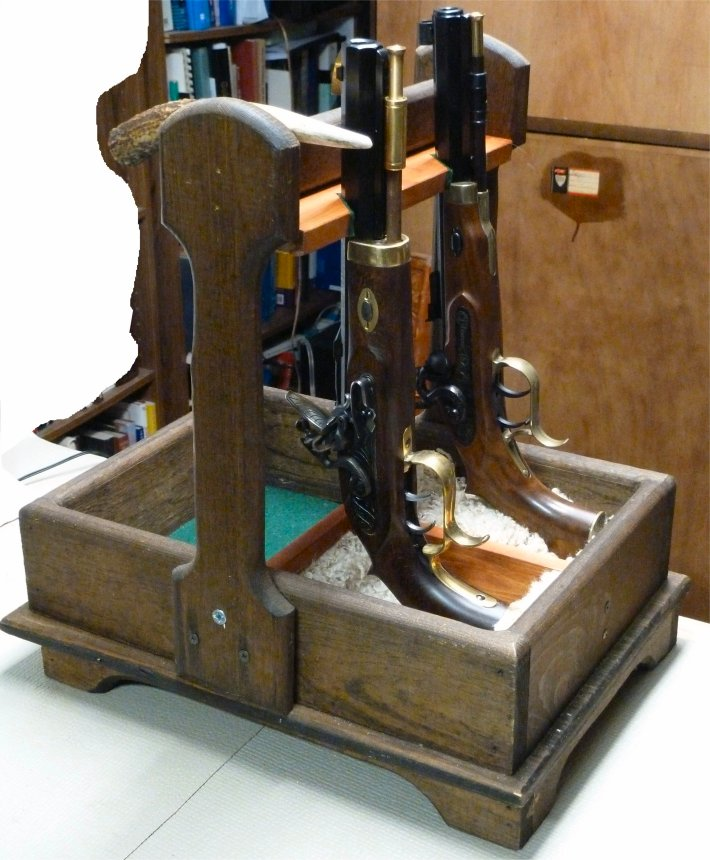 Single Shot pistol loading stand Loadin10