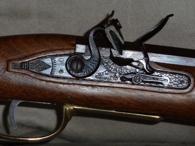 Found an interesting flint lock at a local gun shop Sutter15