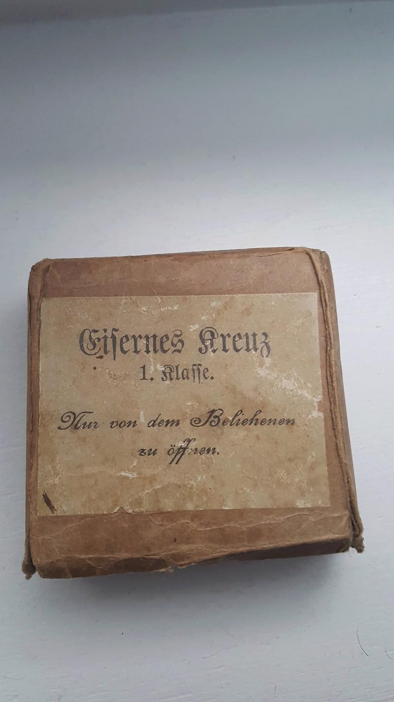 Ecrins pour Croix de Fer de 1ère Classe (EK1) 1914, 1939 et 1957 20180320