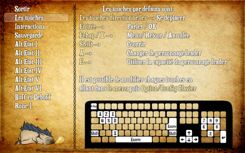 Codex / Journal RPG Maker MV Touche11