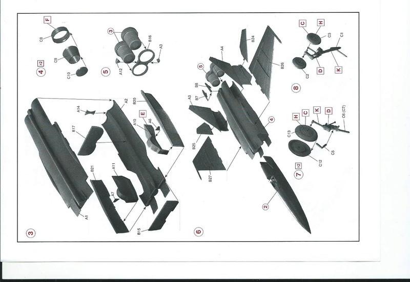 Montage MiG 25 ICM - Page 2 Icm_mi10