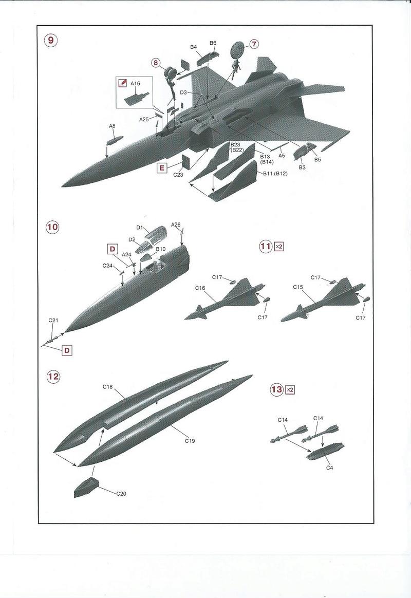 Montage MiG 25 ICM - Page 2 Icm_mi11
