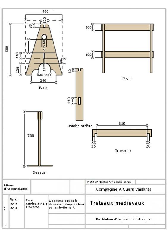 """Fabrication  """"urgente """" (façon Corse) de TRETEAUX en bois - Page 3 97109010"""