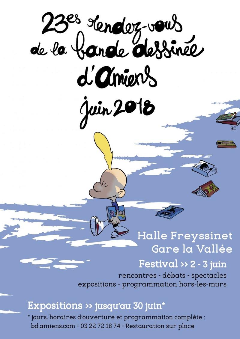 Le festival de la Bande dessinée, les 2 et 3 juin 2018 à Amiens Festiv10