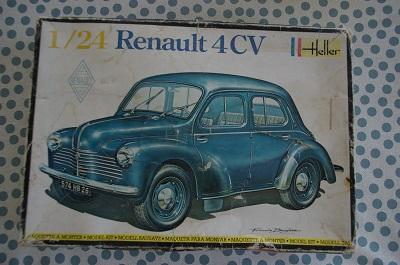 Renault 4 ch 1/24  Heller Imgp0110