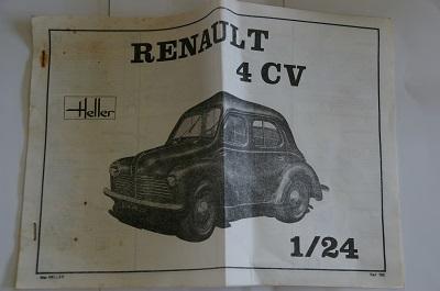 Renault 4 ch 1/24  Heller Imgp0114