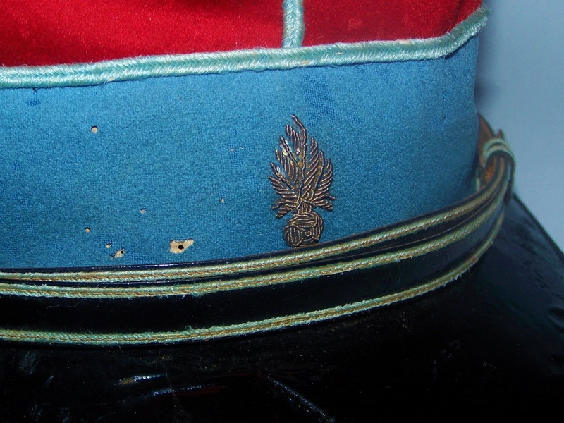 Képi cavalerie XIXeme 102_9136