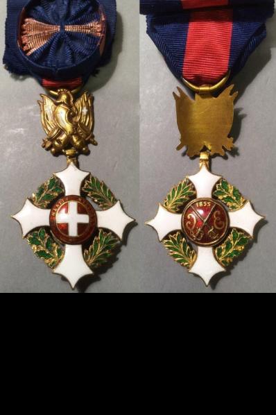 Identification d'une décoration portée par le général BOURBAKI Tylych10