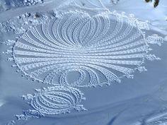 Découvrez Simon Beck: dessins dans la neige. 7f2b8a10
