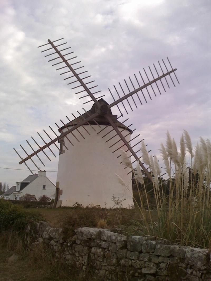 Morbihan (56) Kerhillio-Erdeven /Moulin à vent 28-10-10