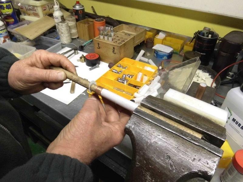cartouches papier calibre 54 pour sharps 1010