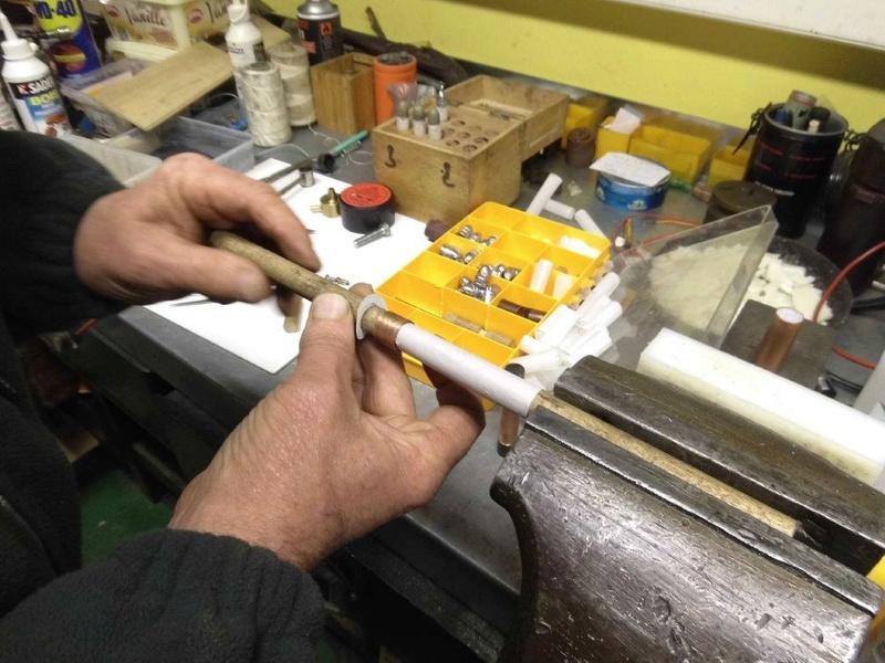 cartouches papier calibre 54 pour sharps 910
