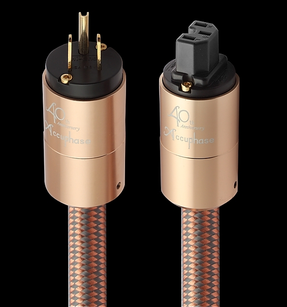 Accuphase 40th Anniversary Limited Edition Audiophile Power Cord - Buyer beware A110