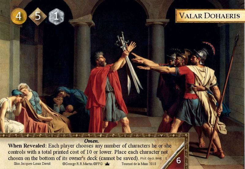 [TM 2018] 05 et 06 mai - Paris [2ème jeu concours] - Page 17 Valar_10