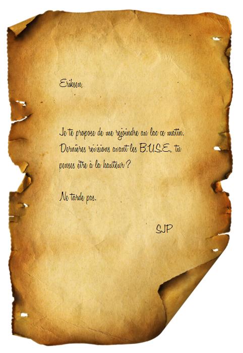 Volière de Palmyre Lettre10