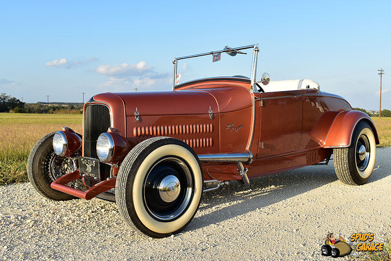 """1929 Ford Model A Roadster """"Lil Pages"""" 001e10"""