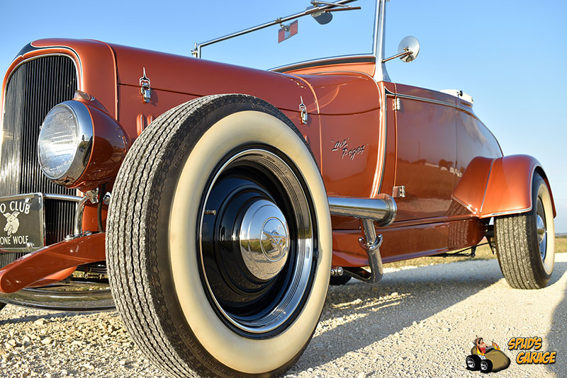 """1929 Ford Model A Roadster """"Lil Pages"""" 002e10"""