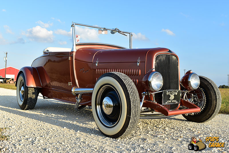 """1929 Ford Model A Roadster """"Lil Pages"""" 006e10"""