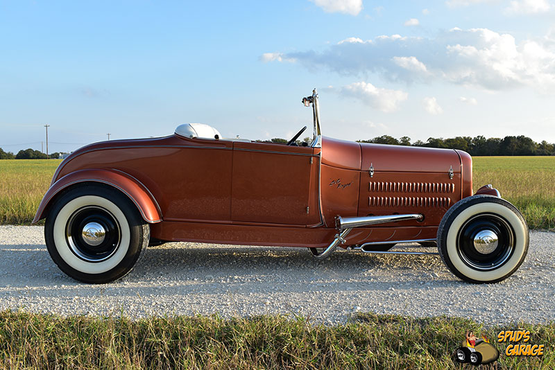 """1929 Ford Model A Roadster """"Lil Pages"""" 007e10"""
