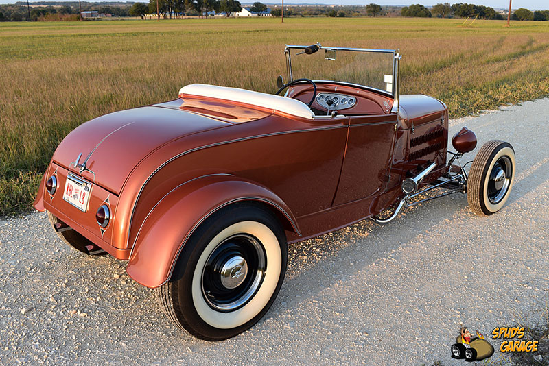 """1929 Ford Model A Roadster """"Lil Pages"""" 008e10"""