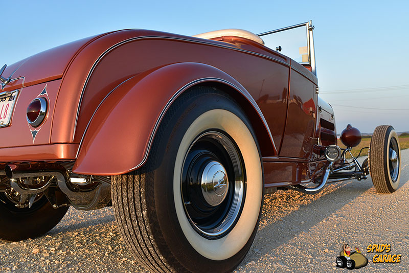 """1929 Ford Model A Roadster """"Lil Pages"""" 009e10"""