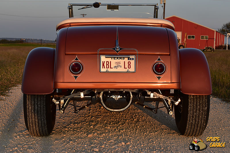 """1929 Ford Model A Roadster """"Lil Pages"""" 010e10"""