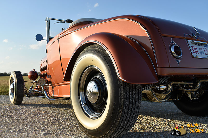 """1929 Ford Model A Roadster """"Lil Pages"""" 013e10"""